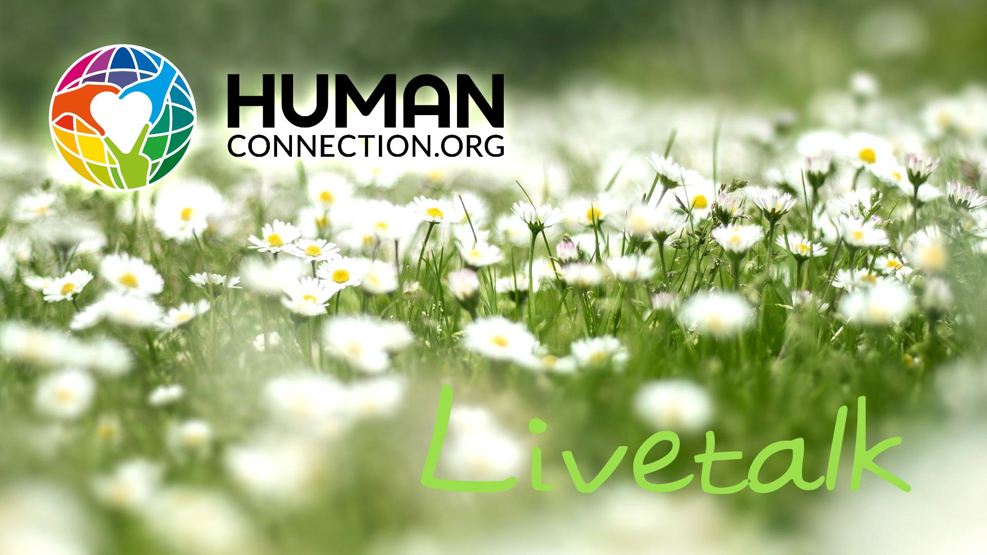 Human Connection - Blumenwiese_Livetalk